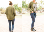 street style, fashion blog, skull, sugar skull, olive, ankle boots, think elysian