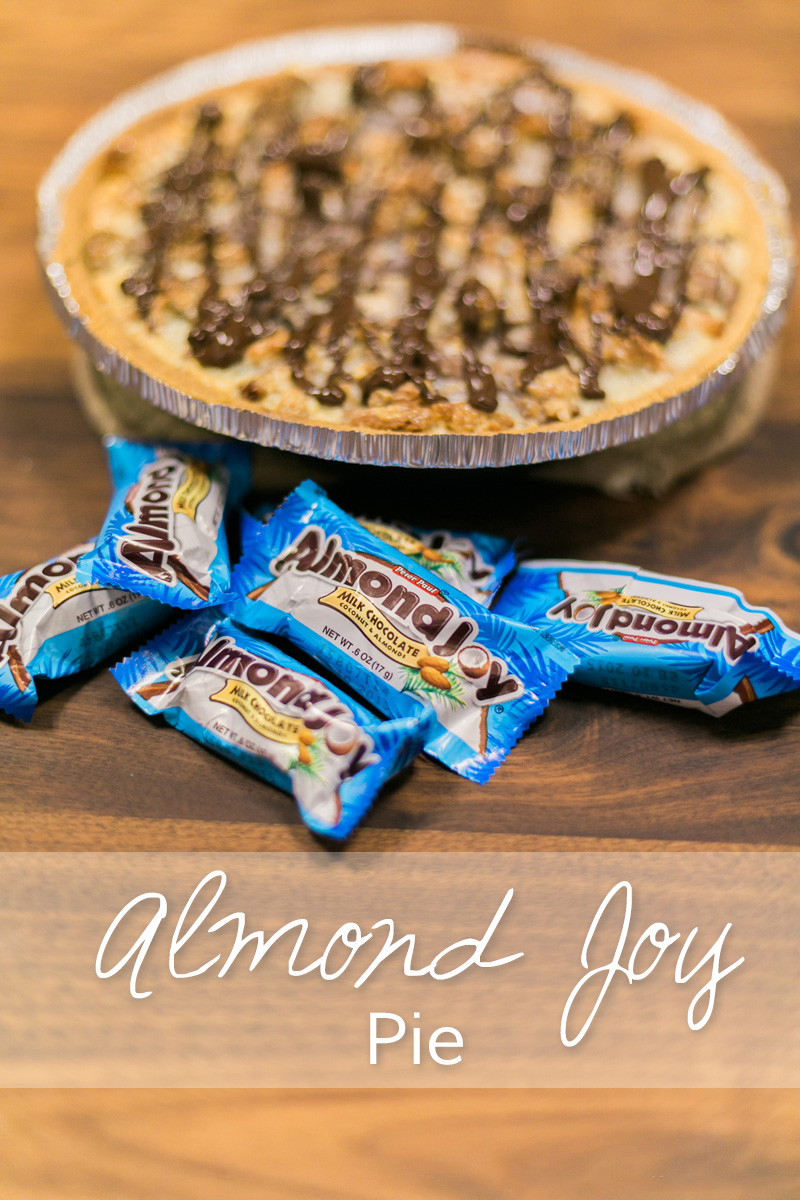 almond joy pie, food blog, fashion blog,