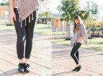 poncho, fall style, fashion blog, think elysian