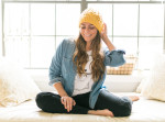 yellow beanie style, think elysian blog