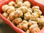 sausage balls recipe, super bowl appetizer, quick snack, appetizer recipe