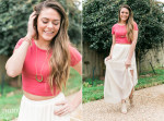 crop top flowy maxi, gypsy, boho, style blog bohemian fashion, thinkelysian.com