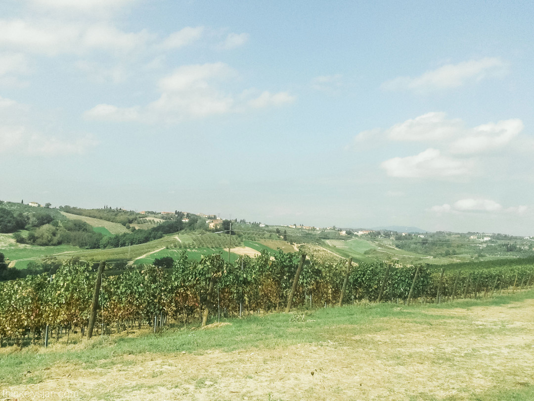 Take a drive in the Italian countryside - Life + Style + Travel blogger www.thinkelysian.com