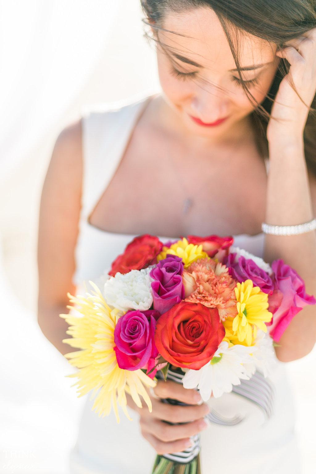 Bright, beach destination wedding photography - Awestruck Events + Think Elysian destination photographer. www.thinkelysian.com