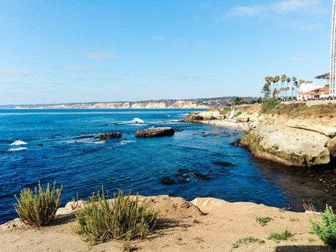 La Jolla Cove California - Travel blog www.thinkelysian.com