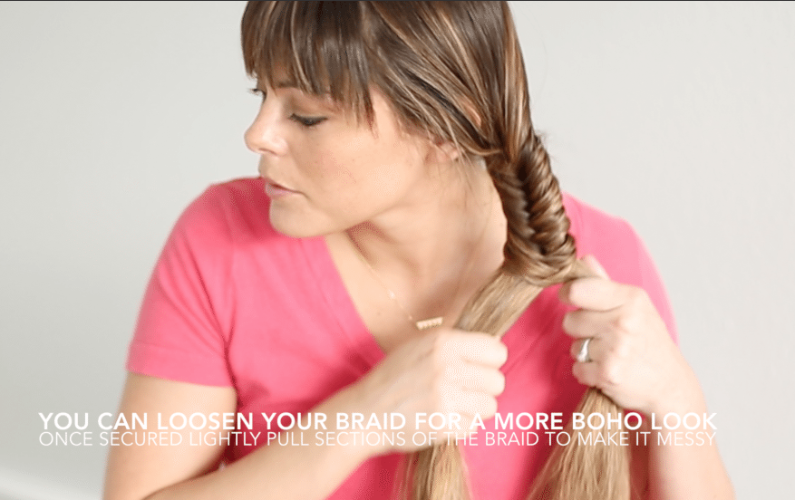 Bohemian Styled Session - Boho fishtail braid tutorial by Think Elysian // www.thinkelysian.com