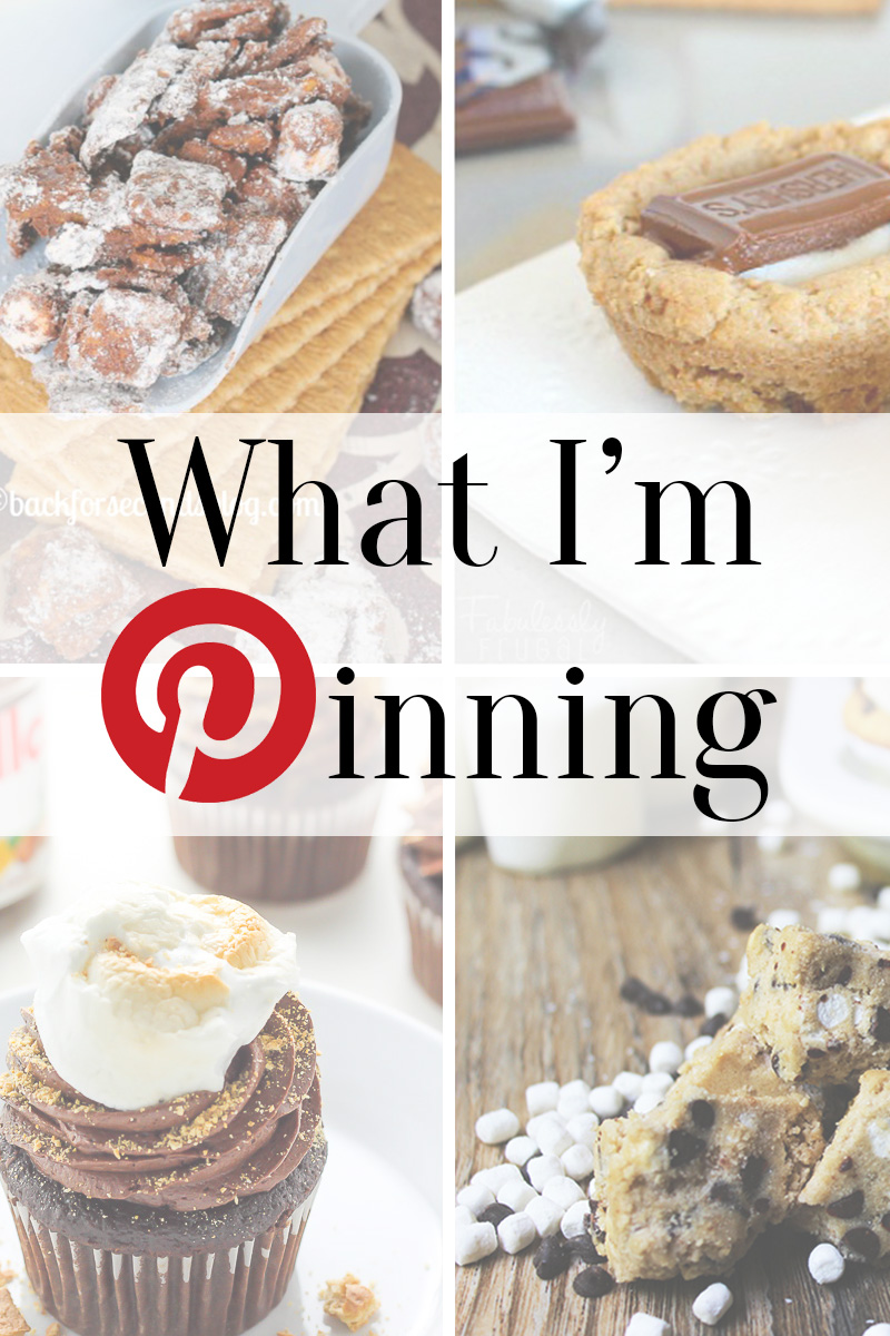 www.thinkelysian.com What I'm Pinning series - S'mores Desserts // Life + Style + Travel blog