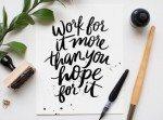 brush Calligraphy - Monday Motivation // www.thinkelysian.com