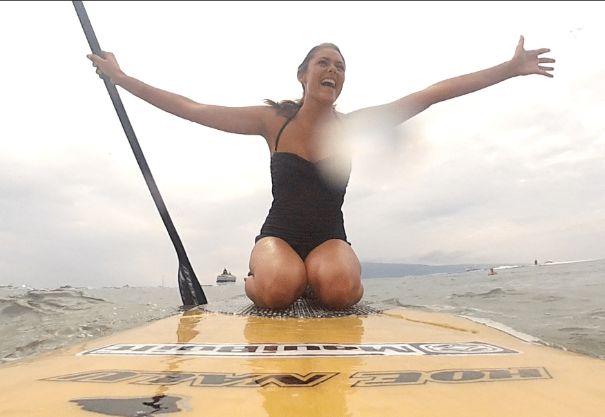 Cheap things to do in Hawaii - Paddle-boarding in Maui // Style + Travel blog www.thinkelysian.com