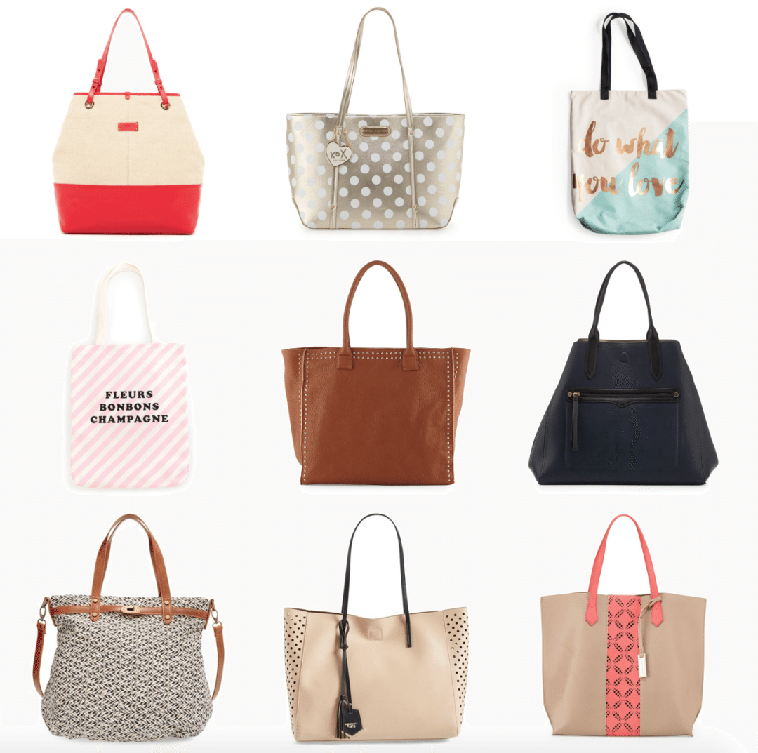 Travel smart and stylish with a tote bag. Here are my favorites all under $100 and perfectly fashionable. See why a tote bag for traveling is essential! // www.thinkelysian.com