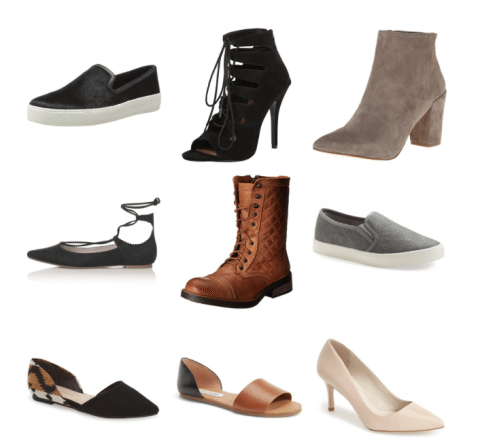Shoesday Christmas Round-up - Shoes all UNDER $50! // thinkelysian.com