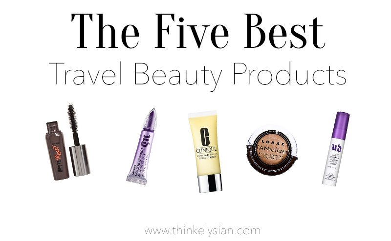The 5 Best Travel Beauty Products // www.thinkelysian.com