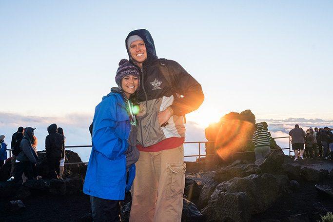Cheap Things to do in Hawaii: Biking down the Haleakala Volcano in Maui // www.thinkelysian.com