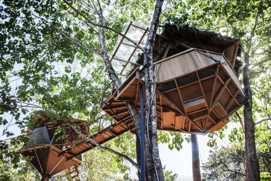 Affordable Treehouse Rentals Around the World // thinkelysian.com