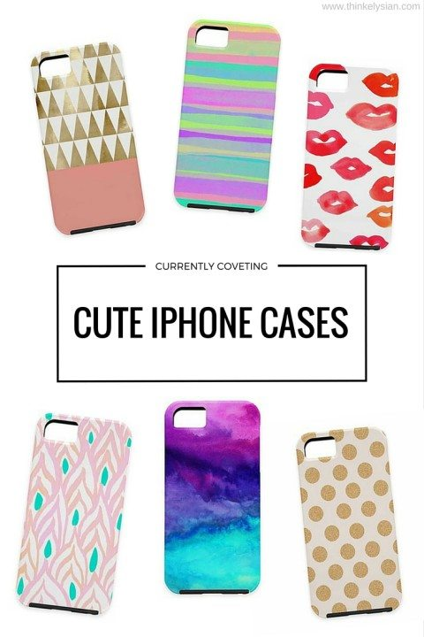 Currently Coveting: Cute iPhone Cases // thinkelysian.com