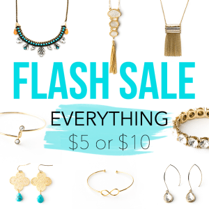 Jewelry & Accessory Boutique Flash Sale // thinkelysian.com