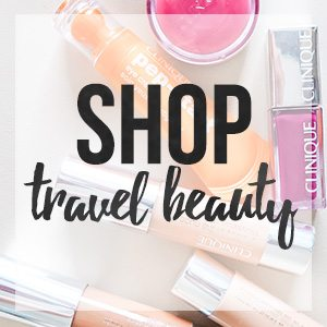 Shop my favorite travel beauty products for my traveling adventures // thinkelysian.com