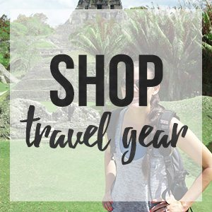 Shop my favorite travel gear for my traveling adventures // thinkelysian.com