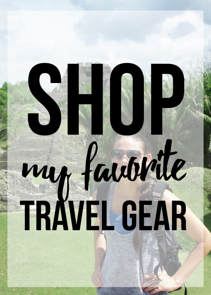 Shop my favorite travel gear // thinkelysian.com