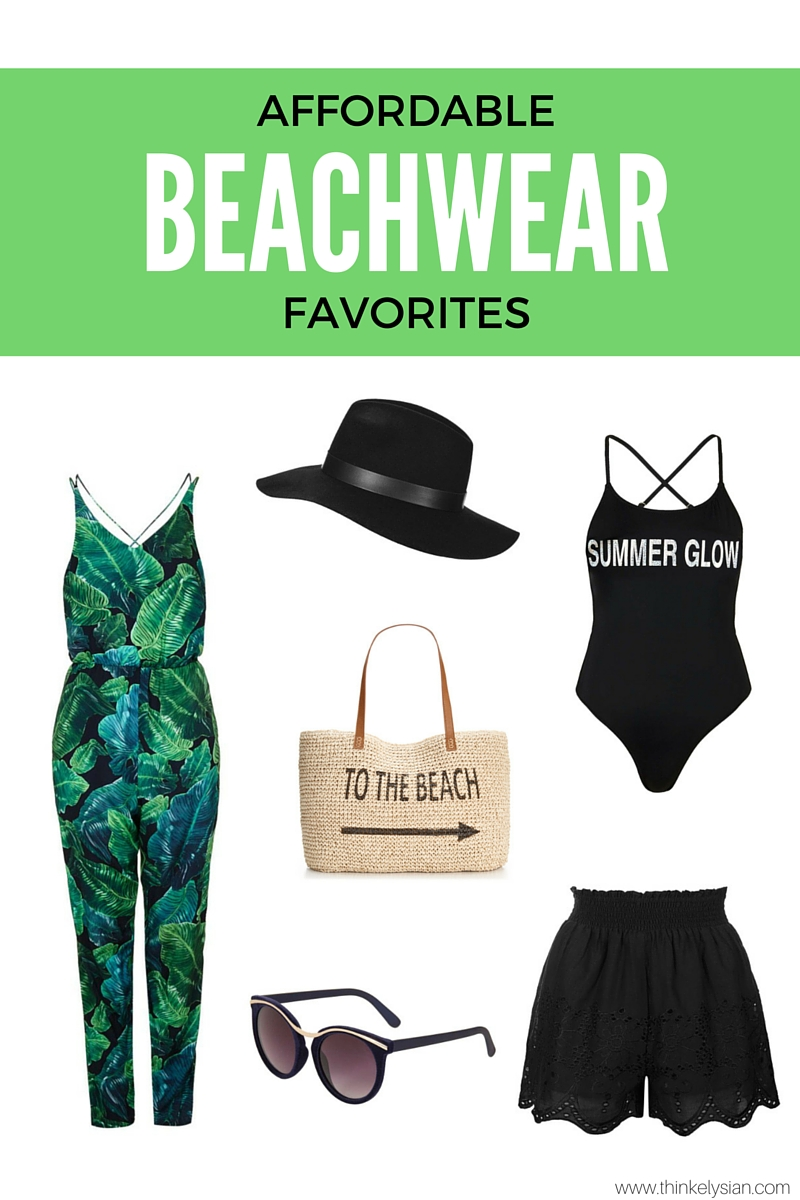 Shop my affordable beachwear favorites! // thinkelysian.com