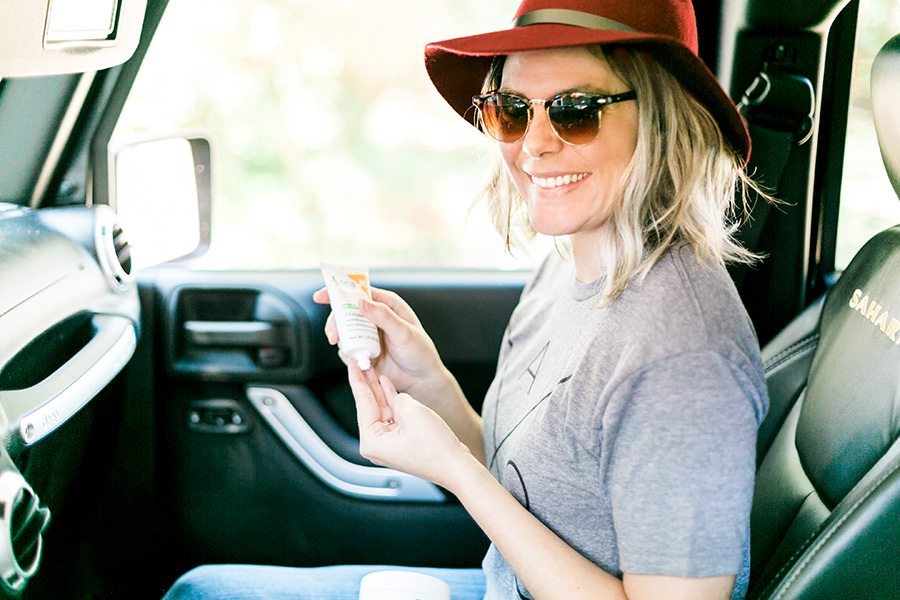 Road trip skin care tips for those long stuffy car rides // thinkelysian.com