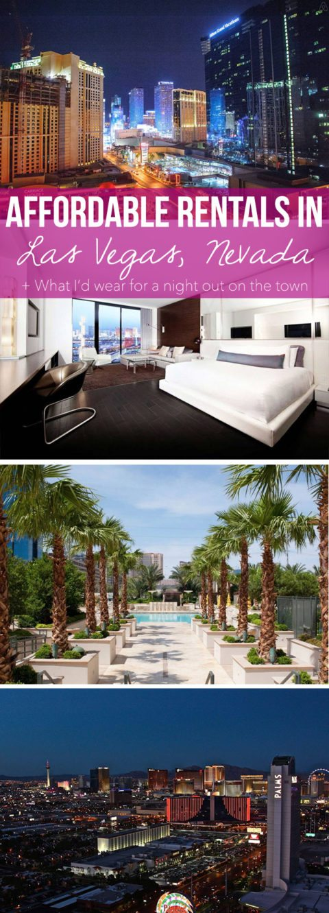 Affordable Rentals in Las Vegas, Nevada + What I'd wear for a night out on the town // Where to stay in Las Vegas on thinkelysian.com