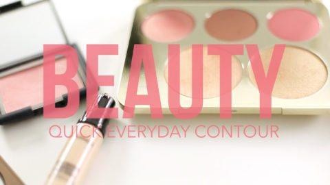 Think Elysian & Updo Gypsy Quick everyday contour makeup tutorial video // thinkelysian.com