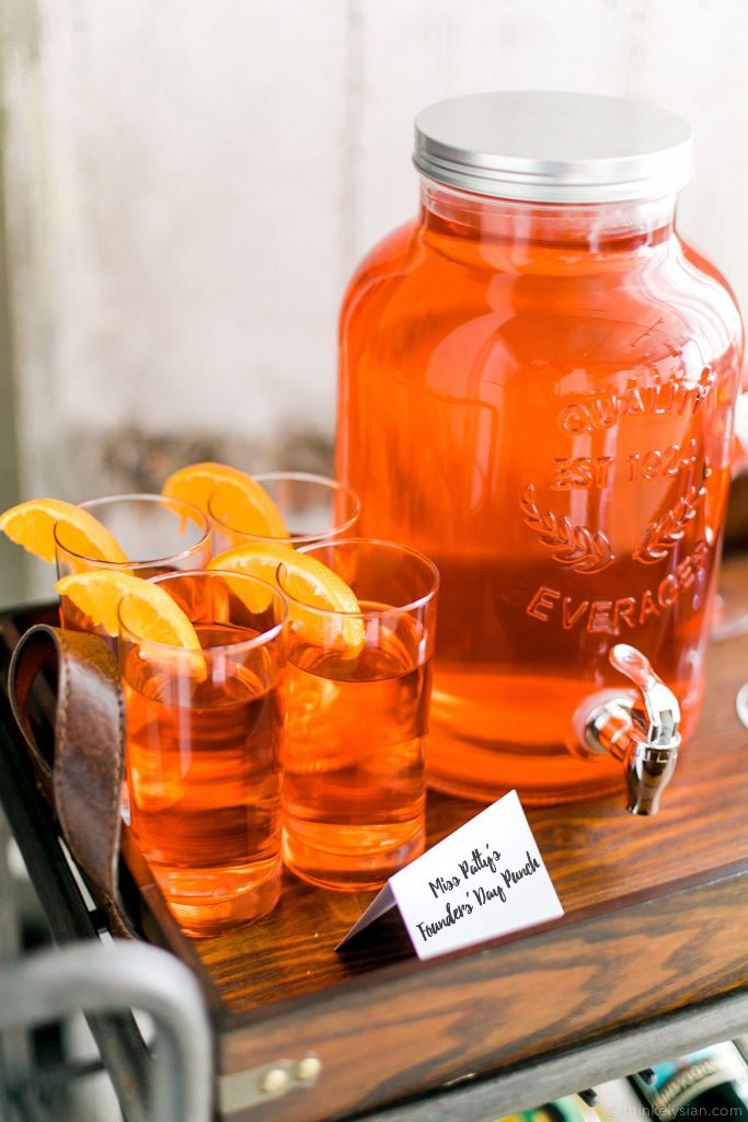 Miss Patty's Founders' Day Punch Recipe for the ultimate Gilmore Girls revival watch party! // thinkelysian.com