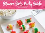 Dessert Sushi Recipe for the ultimate Gilmore Girls revival watch party guide // thinkelysian.com