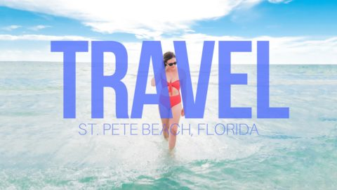 Take a peek in to our relaxing vacation in St. Pete Beach, Florida. See our adventures in this travel VLOG on my youtube channel. // thinkelysian.com
