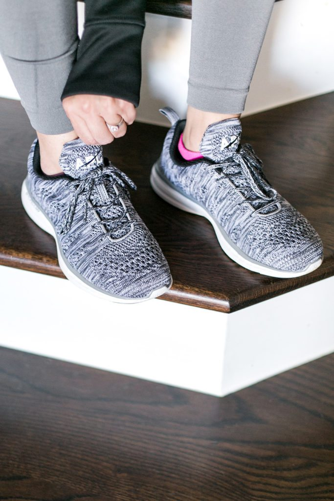 Athletic Propulsion Labs knit running shoes - a sporty & comfy look // thinkelysian.com
