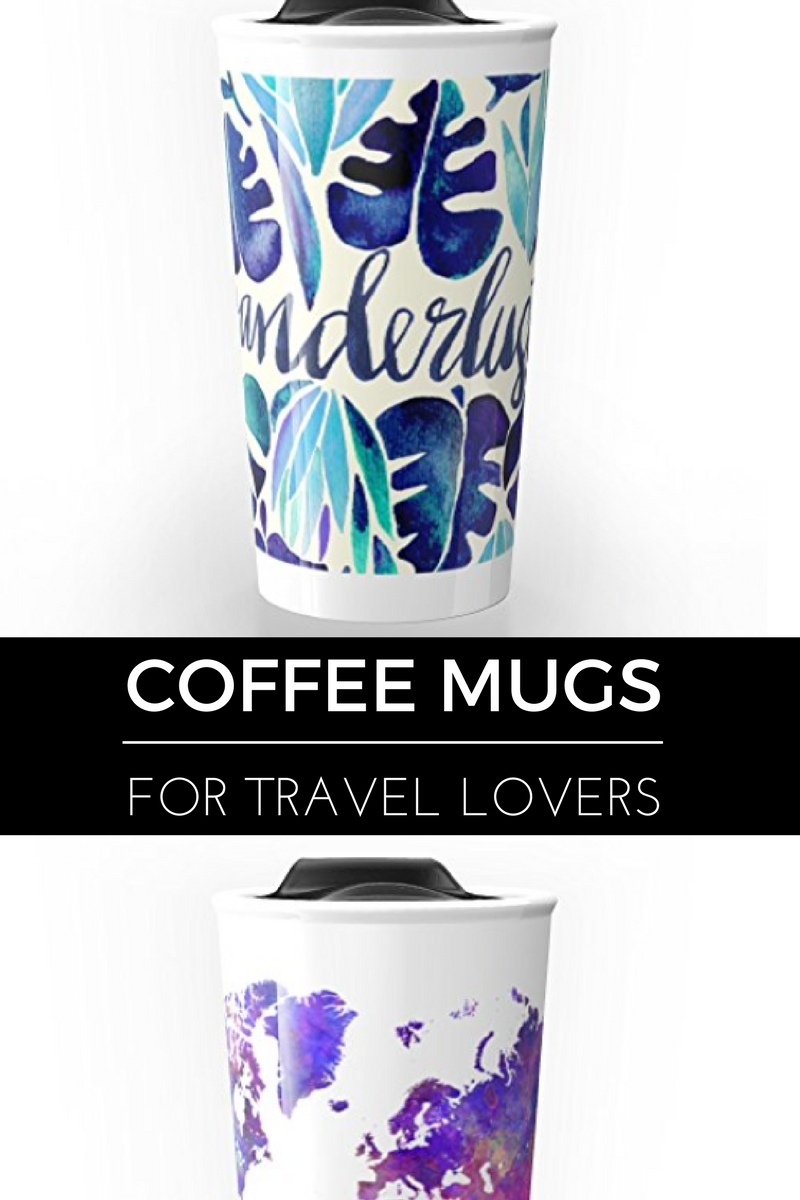 Fun coffee mugs for travel lovers || thinkelysian.com