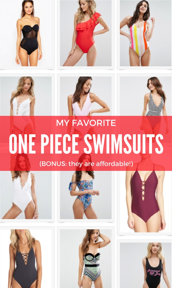 I've rounded up my favorite one piece swimsuits. This affordable swimwear is perfect for your next beach vacation. Check out this travel style on thinkelysian.com